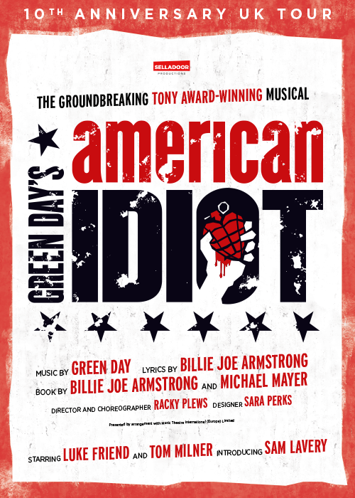 american idiot the gaiety theatre