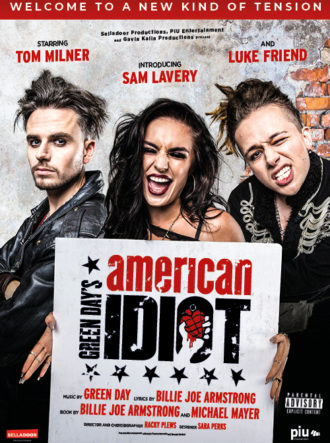 Poster for AMERICAN IDIOT