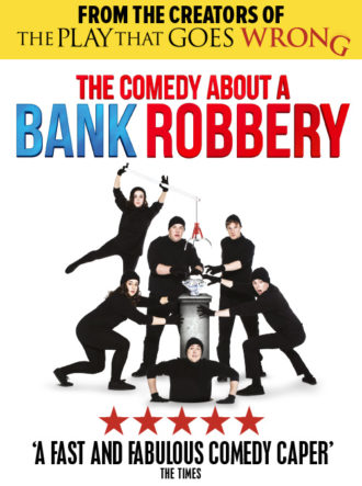 Poster for The Comedy About A Bank Robbery