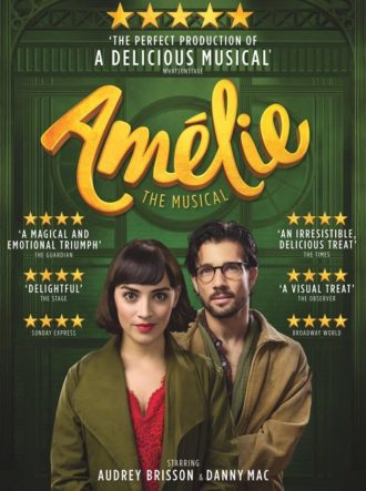 Poster for Amélie The Musical