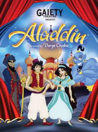 Aladdin – Gaiety Theatre Panto 2019 – 2020
