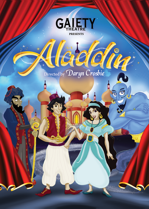 Aladdin Gaiety Theatre Panto 2019 2020 The Gaiety Theatre