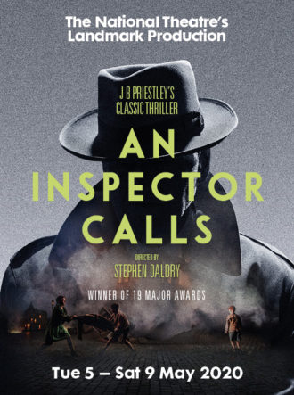 Poster for An Inspector Calls – Cancelled